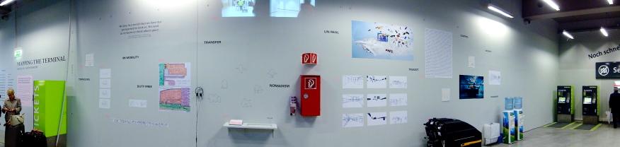 2010 «Ctrl» Mapping the Terminal, CAT Checkin, Landstraßer Hauptstraße, Vienna Project management: Nikolaus Gansterer project supervision: Philippe Rekacewicz Tansmedialart, Prof. B. Kowanz University of Applied Arts, Vienna AT