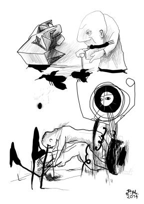 #Fineart #Patrikmuchenberger #Drawing
