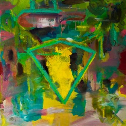 2012, oil, canvas, 50 x 50 cm