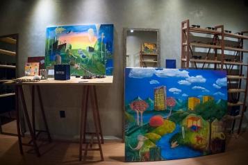 Exposição P.M. at REVER, Brasília