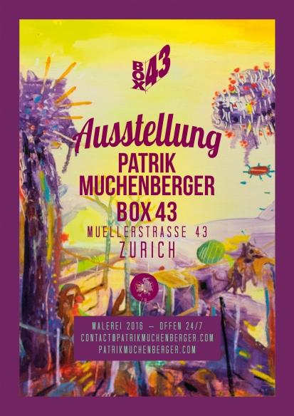 Plakat, UVS, Box43
