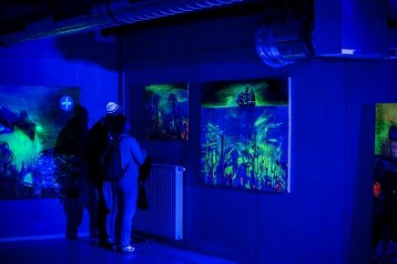 Ausstellung PFERD Wien, Eröffnung, 14. Oktober 2016 (Helfe PFERD, anzueignen.)