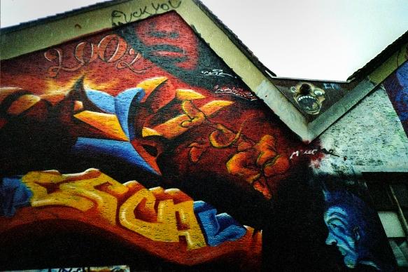 2002, Streetart at Between, Bregenz, Austria
