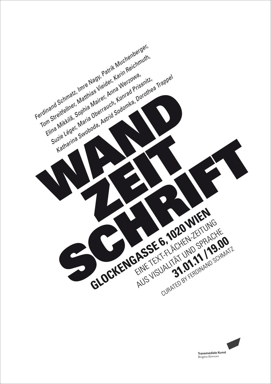 Opening Wandzeitschrift, steinbrener-dempf, vienna