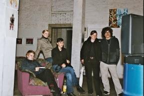 2001 «Some Caracters» Caractaz, Group-Show at Flon, St.Gallen CH