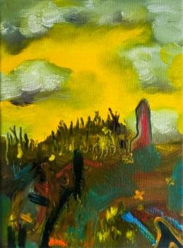 2017, oil, canvas, 18 x 24 cm